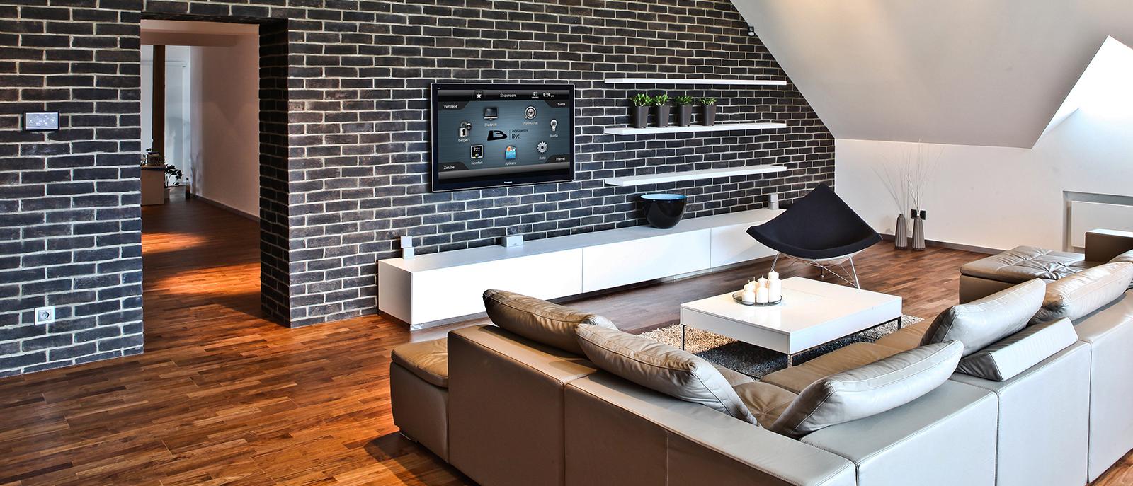 Inteligentní byty a domy